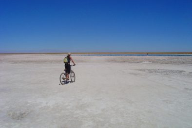 Mountain Biking in the Atacama Desert during Cycling Tour in Chile