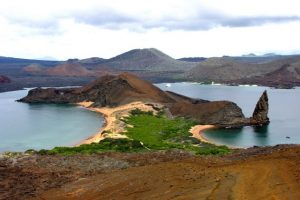 View of Bartolome Island during our Galapagos Tour