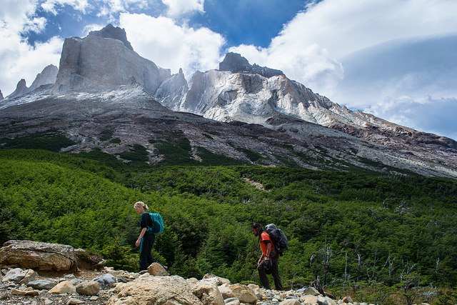 Hiking Tour to Los Cuernos in Torres del Paine National Park in Chile