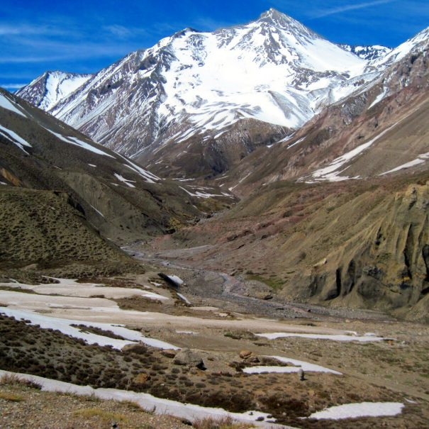 Hiking in the Andes in Chile - Hiking Tour to Morado Natural Monument
