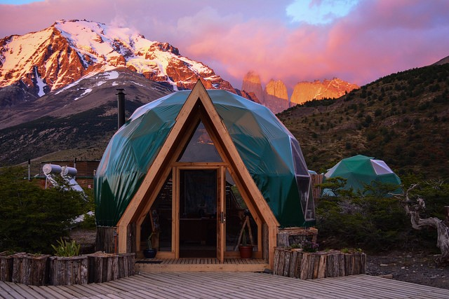 Sustainable Accommodation in Torres del Paine National Park: EcoCamp Patagonia