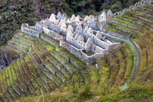 Winaywayna Ruins on the Inca Trail in Peru