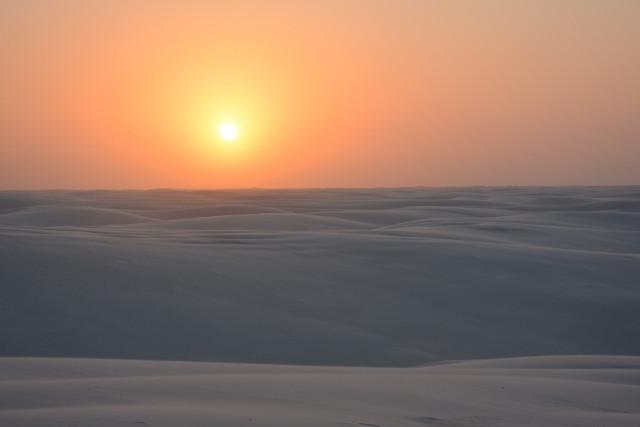 Brazil-Lençóis-Maranhenses-Trek-Sunset