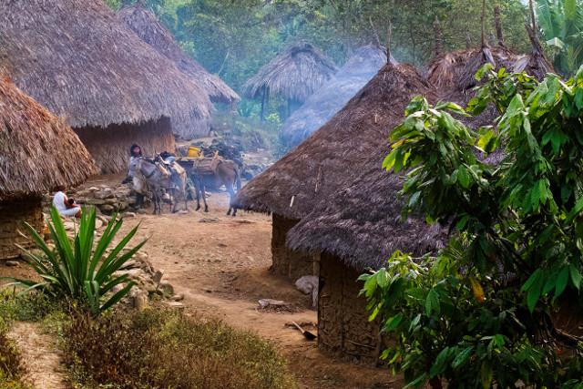 Colombia-Lost-City-Trek-Kogi-Village