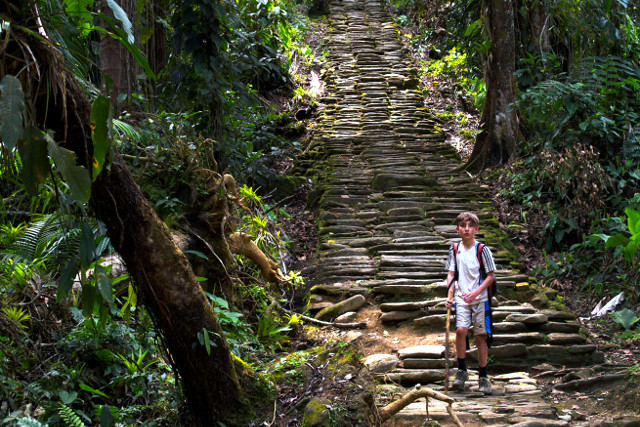 Colombia-Lost-City-Trek-Stairs