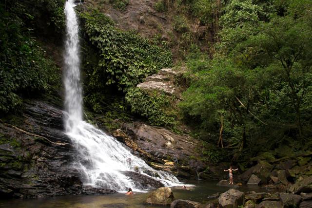 Colombia-Lost-City-Trek-Waterfall