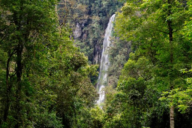 Colombia-Trekking-Los-Nevados-Trek-Paramillo-del-Quindio-Waterfall