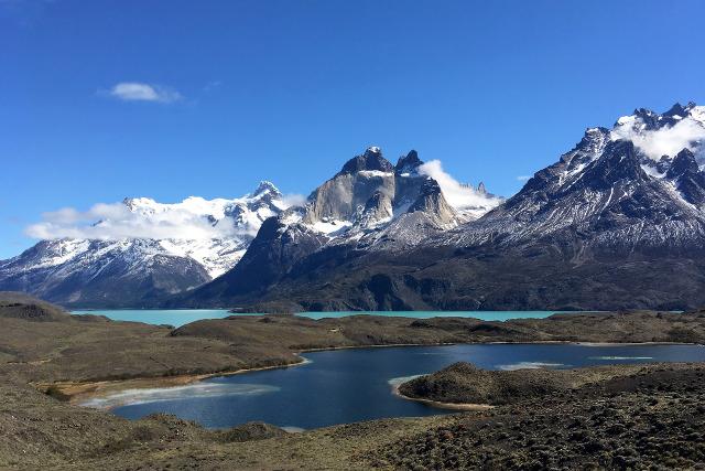 Chile-Patagonia-Torres-del-Paine-W-Trek-Pehoe-Lake