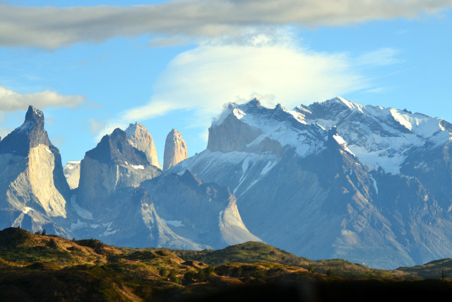 Chile-Patagonia-Torres-del-Paine-W-Trek-Mountains