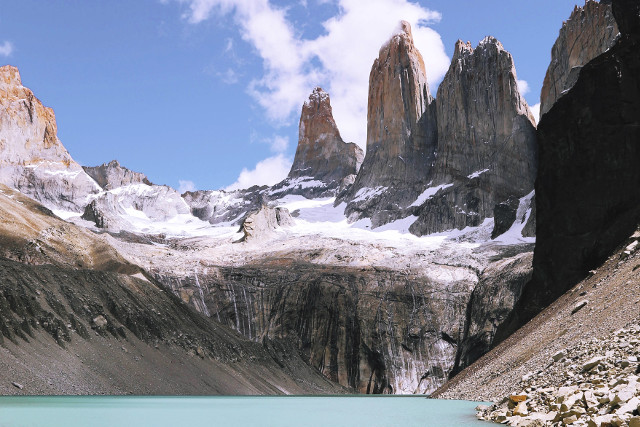 Chile-Torres-del-Paine-National-Park-O-Circuit-Towers