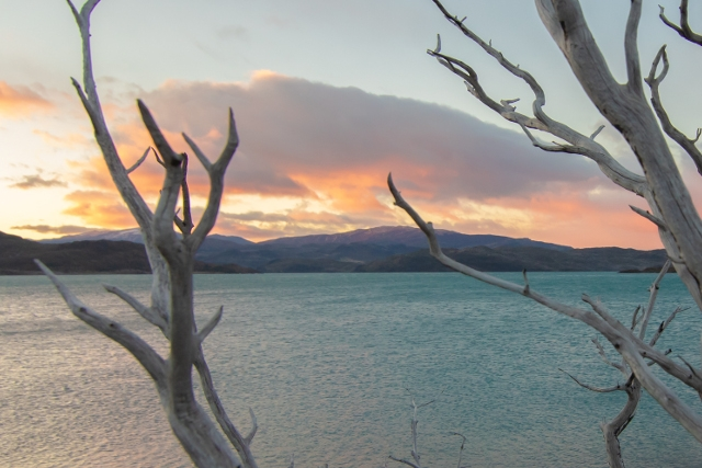 Chile-Torres-del-Paine-National-Park-Winter-W-Trek-Sunset