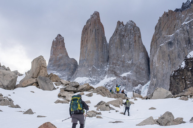 Chile-Torres-del-Paine-National-Park-Winter-W-Trek-Towers-Hike