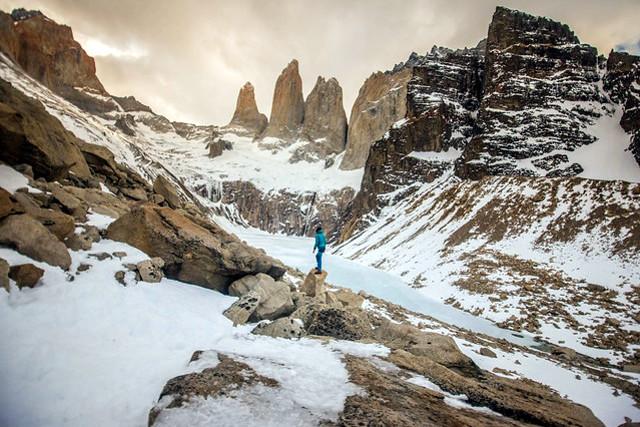 Chile-Torres-del-Paine-National-Park-Winter-W-Trek-Towers