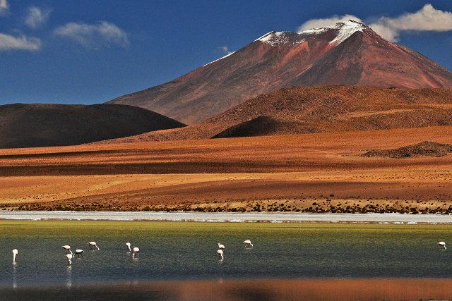 Bolivia-Uyuni-Salt-Flat-Colored-Lagoons-Landscape