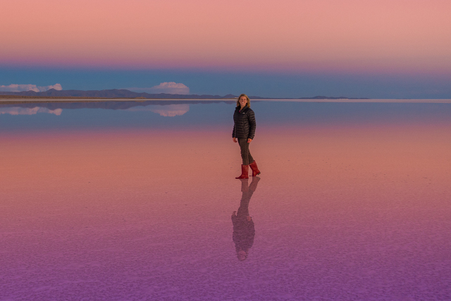 Bolivia-Uyuni-Salt-Flat-Colored-Lagoons-Sunset