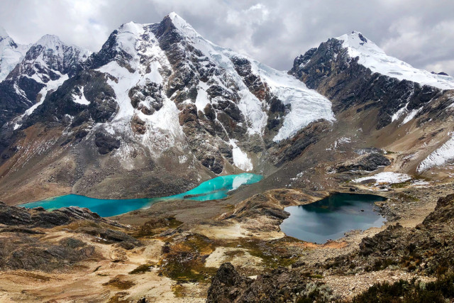 Peru-Hiking-Huayhuash-Circuit-Mountains-Lakes